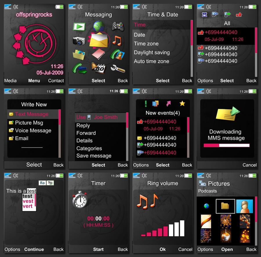 Sony Ericsson K310 Softwares