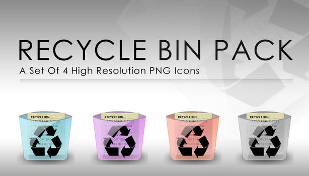 Recycle Bin Icon's