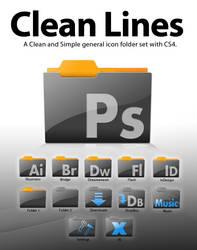 Clean Lines Folder Set CS4