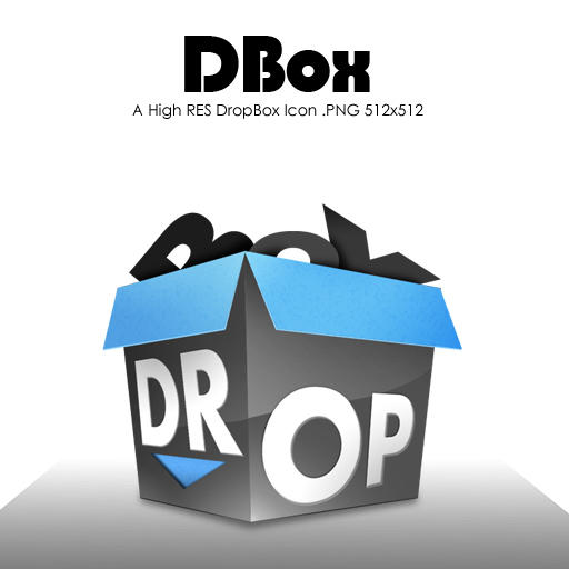 Dbox DropBox Icon by johnamann