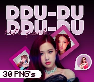 [OO3]!MV Pack PNG - DDU-DU DDU-DU (Blackpink) by TheBabyMochi