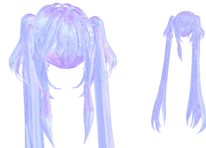 Mmd Crystal Hair Download By Yozane On Deviantart