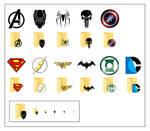 Superhero Icons For Windows 10