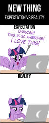 TwiVPC #14 - New Thing (Expectation vs Reality) by MrKat7214