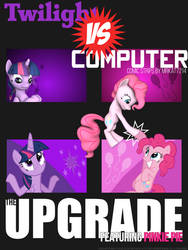 Twilight vs. Computer - The Upgrade cover by MrKat7214