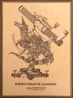 Steampunk Ichthyovenator Laosensis