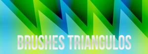 brushes de triangulos by mjjj10