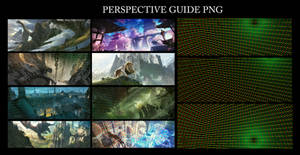 perspective guide PNG by panjoool