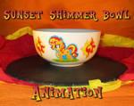 Sunset Shimmer Bowl Animation