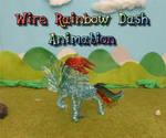 Wire Rainbow Dash Animation01