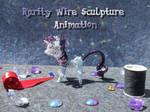 Wire Rarity Rotation Animation