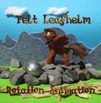 Felt Leafhelm Animation (open wings - no helm) by Malte279