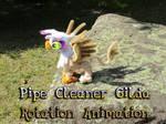Pipecleaner Gilda Rotation Animation
