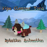Pipe-Cleaner-Yona-Rotation-Animation by Malte279