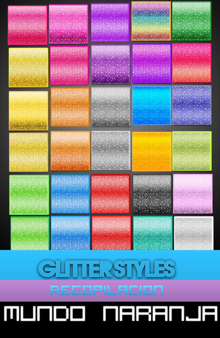 Glitter Styles l Recopilacion by mundonaranja