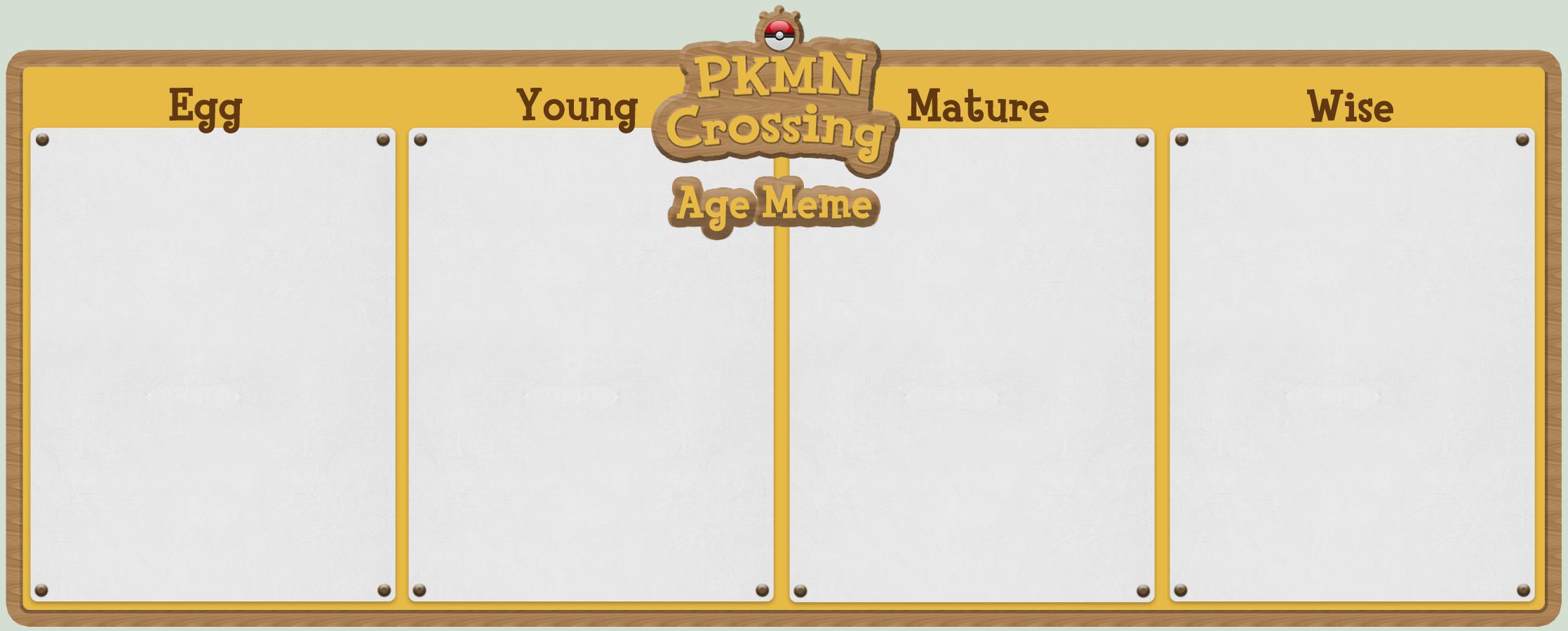 PKMC Age Meme by pahein