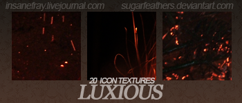 Luxious textures by SugarFeathers