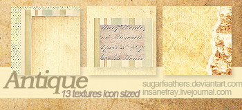 Antique Textures by SugarFeathers