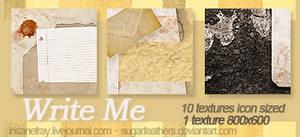 WRITE ME textures