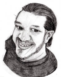 Drawing People - @MrHairyBrit by inkeater