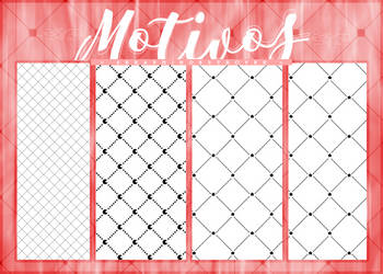 [$COMM USE] Motivos (Patterns) | Pack #05 by Lady-Whitee-Queen