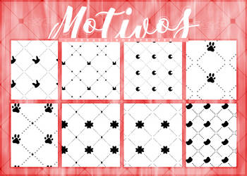 [$COMM USE] Motivos (Patterns) | Pack #06 by Lady-Whitee-Queen