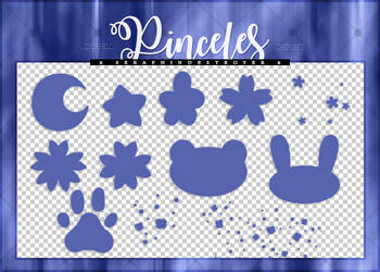 [$COMM USE] Pinceles (brushes)| Pack #03 by Lady-Whitee-Queen