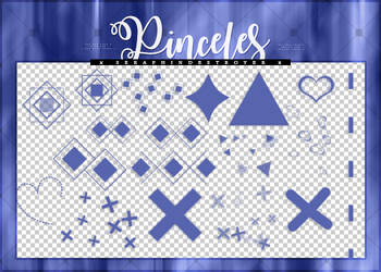 [$COMM USE] Pinceles (brushes)| Pack #04 by Lady-Whitee-Queen