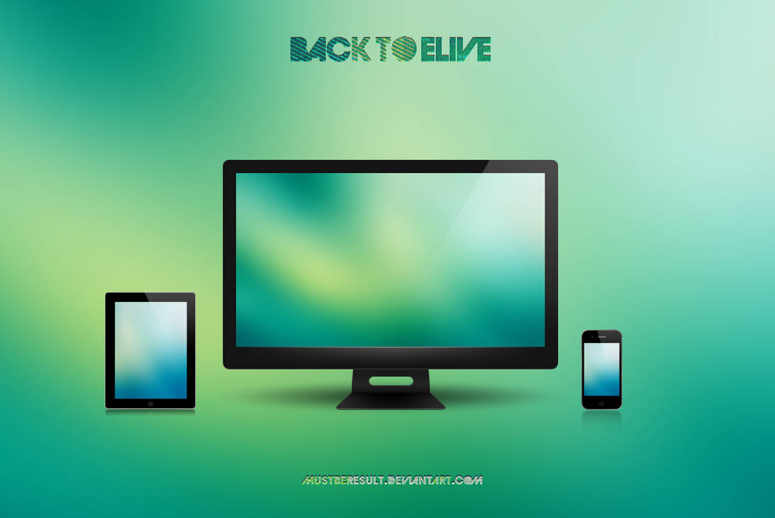 Back To eLive by MustBeResult