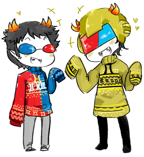 sollux x reader x mituna  you captored my heart  by fanfic queen    Mituna And Sollux