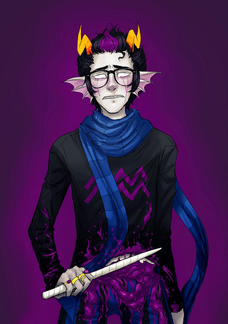 Eridan x Troll!Reader- What Have You Done? by Vincebae on ... Homestuck Yandere Dualscar Ampora X Reader