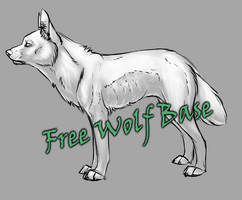 Free Wolf Base by LunAdopts