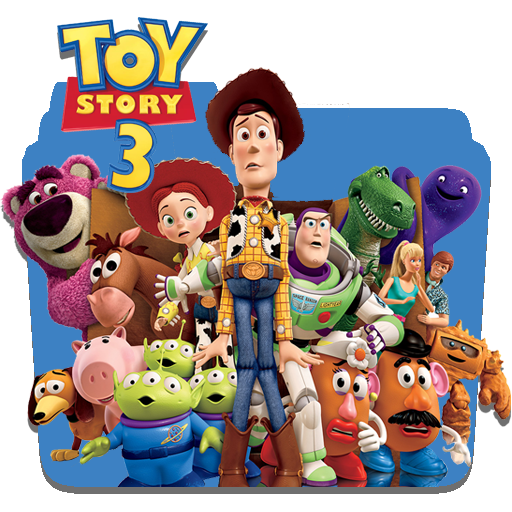 toy story 3 icon by piebytwo on deviantart