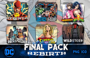 DC Rebirth MEGA FINAL Icon Pack v12 by piebytwo