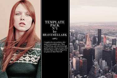 Template pack by bravemellark