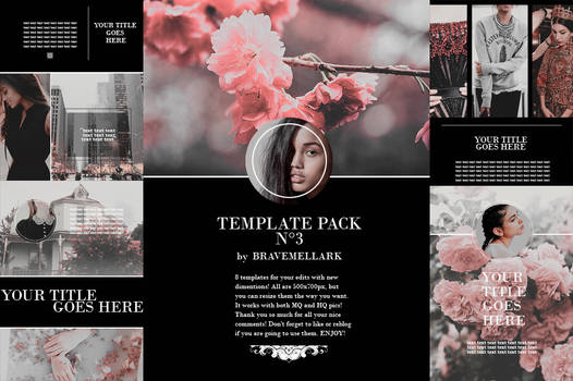 Template Pack-3 By Bravemellark