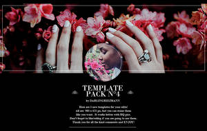 Template Pack 4 By Darlingriezmann by daria-morgendorffers