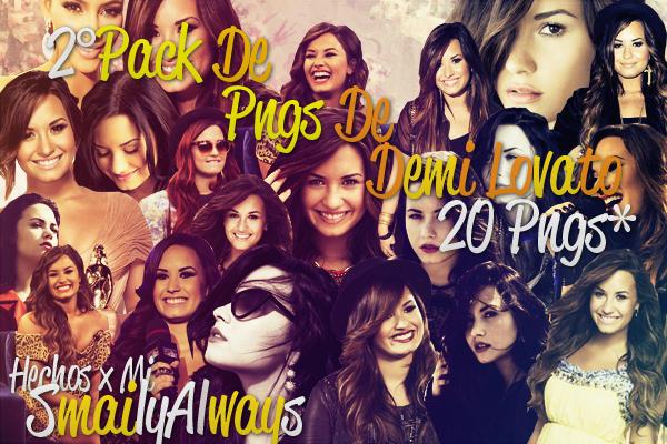 2 Pack de Pngs de Demi Lovato by SmailyAlways