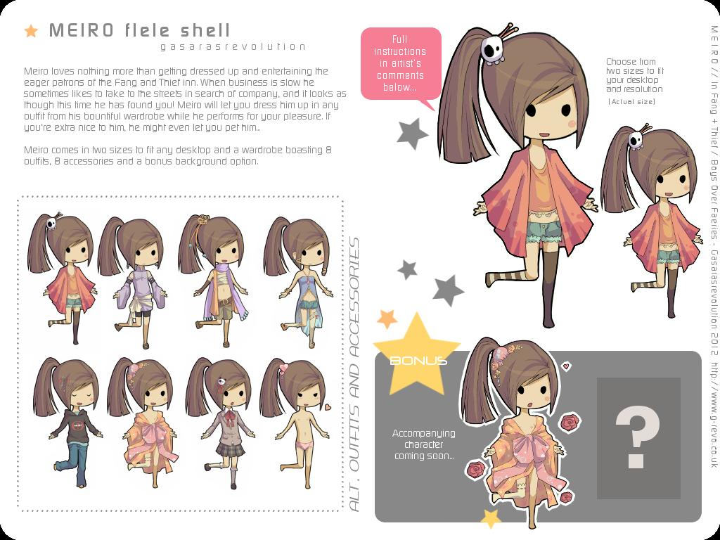 Meiro Flele Shell + Help by Gasara