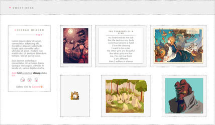SWEET-ness Gallery 3.0 CSS (Retired)
