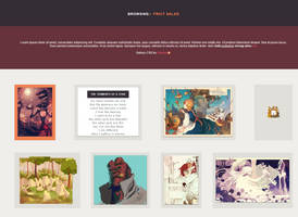 Fruit Salad 3.0 Gallery CSS (Retired) by Gasara