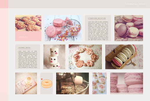Strawberry Sorbet 2.0 Gallery CSS