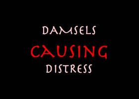Damsels Causing Distress by Kitsufox