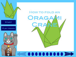 How to Fold a Paper Crane by Kitsufox