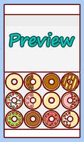 Cute Donut Box Decoration Game by sosogirl123