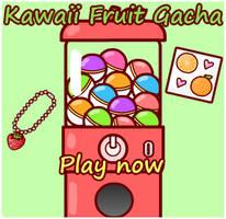 Kawaii Fruit Gachapon by sosogirl123