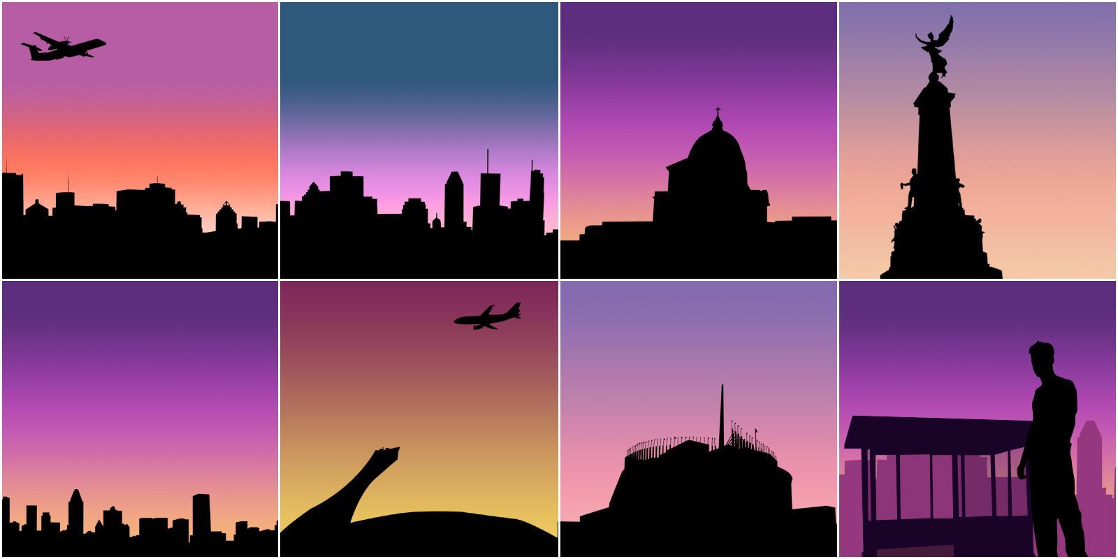 City Brushes by v-k-s
