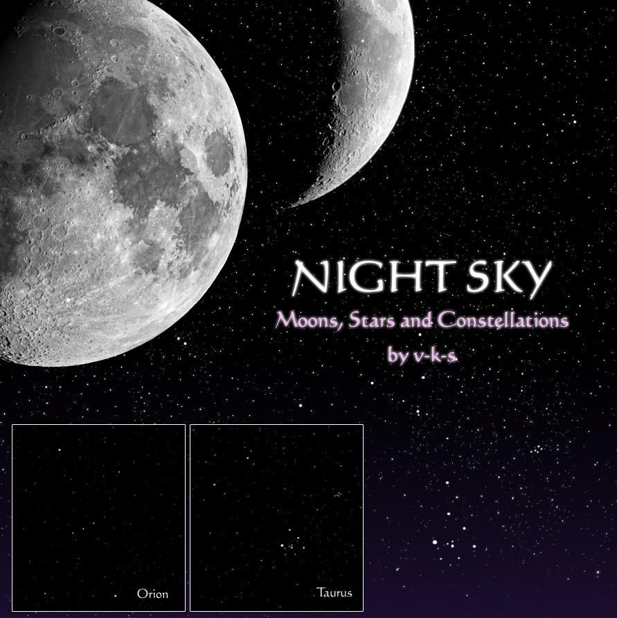 Night Sky Brushes by v-k-s