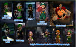 Luigi's Mansion Costume Pack 1