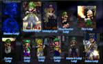 Luigi Costume Pack 2